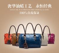 2013 New POLO Women bag handbag leather handbag Shoulder messenger bag fashion Restoring ancient ways baotou layer cowhide  bag