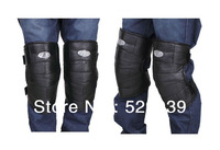 Free shipping,top winter warmer products,100% leather with dog fur kneepads for winter,high quality knee gift protector sets