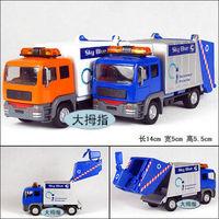 Garbage truck clean car plain alloy car model educational toys WARRIOR toys