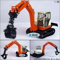 Trajects crane full alloy exquisite super alloy car model