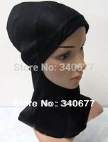 1Dozen=12Pcs 100% Cotton Convenient And Cosy Muslim Inner Hats,Islamic Hijab,Fashion Scarfs,Arabic Hijab TT0422, Free Shipping