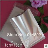 Wholesale 11*16cm  flat pocket bags / Aluminum foil bags/ coffee bag / plastic food bag