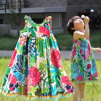 Children's clothing catimini female child baby 100% cotton one-piece dress suspender