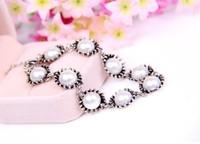 Korean jewelry fashion pearl hand catenary retro bracelet MMB-0041