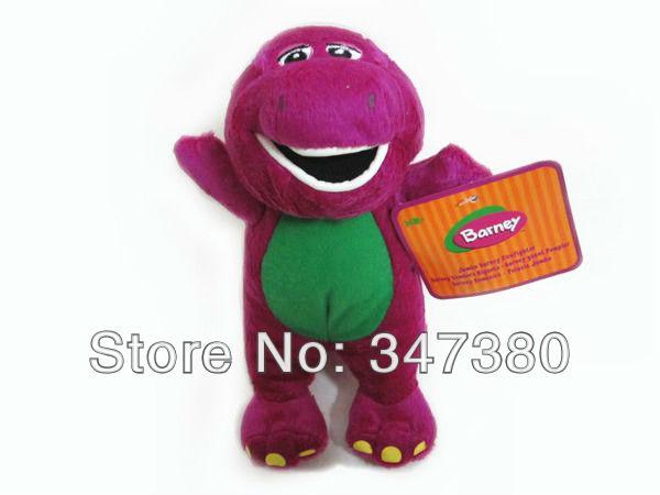 "Free Shipping EMS 100/Lot New Barney Singing Plush Doll 7"" (I LOVE U) Hot Sale(China (Mainland))"