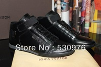 2013 good quality france style new  mens shoes designer genuine leather casual shoes free shipping