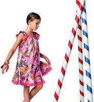 Catimini national trend suspender skirt female child one-piece child tank