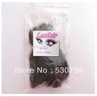Black eyelash single lashes extension 0.15 B 10mm