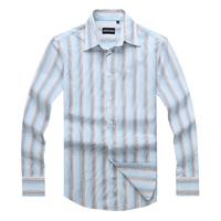2013 shirts men's fashion slim fit shirts cotton long sleeve high quality wholesale free shipping M- XXL