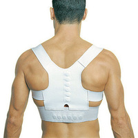 A_Magnetic Posture Support Corrector Back Pain Feel Young Belt Brace Shoulder