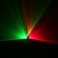 Ag high speed double slider red and green laser light bar laser light ktv light laser light