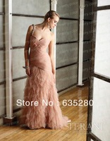 Elegant One Shoulder Fashion Party Long Formal Prom Dresses  p06