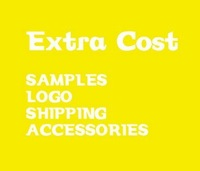 Extra Cost for LOGO & Samples & Shipping fee  Etc