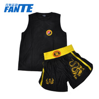 Sanda service shorts set muay thai shorts free combat pants muay thai shorts