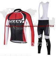 2013 Black pinarello Thermal Winter Fleece Cycling Jersey Long Sleeve and Cycling bib Pants/cycling clothing/maillot cycling