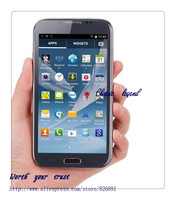 "N7102 N7100 note2 add gift  3G phone  MTK6577 1.2ghz  dual-core 1GB+4GB Dual camera 5.3"" QHD Bluetooth WiFi GPS Free shipping"