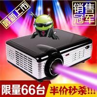 Original Hot sale 6000Lumens projectors 1280*800 home HD projector with wifi HD 1080p projector 3D LED mini projector
