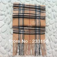 Shelf England Strenger classic fashion men Imitation cashmere Plaid scarves wool scarves big Baba Ge