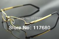 Brand Eyeglasses Frames 2013 Fashion Pure Titanium Brand Seiko Full Frame Business Men Glasses Frame Ultralight Free Shipping