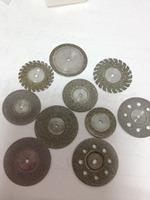 Free Shipping Dental Lab Materials Coarse & Fine Silicon Carbide Discs 20*1