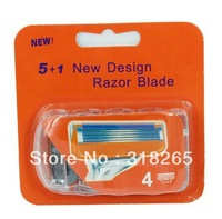 DHL Free Shipping+Factory price+480pcs Men's Razor Blades,Neutral package,high Quality shaver razor  for US&RU&Euro(1pack=4pcs)