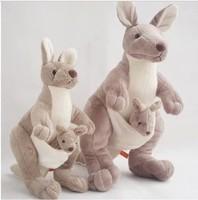 Free shipping Mother and kid kangaroo doll in Australia kangaroo plush toy