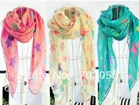children's women's Star Scarf Sarongs Hijabs Bandanas wrap shawl poncho 160*50cm mixed color 18pcs/lot #3358