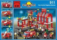 Assembling building blocks series 911 toys child day gift