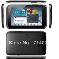 Free shipping 5.8 inch Q999 Android 2.3 Phablet SMDK4x12 WVGA Screen Dual Cameras Mobile TV (Black)