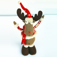 Free shipping 2013 new arrival christmas deer decoration indoor christmas ornament happy christmas gift for children SHB151