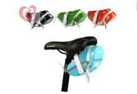 Outdoor Cycling Frame Pannier Bicycle Front Tube bag Bike Rack Pouch candy color 4 colors New