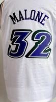 Free Shipping,#32 Karl Malone  Basketball jersey,Size 44-56