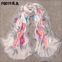 hot women winter scarf fashion style silk scarf polka velvet scarf chiffon Bohemia Scarf free shipping (SC176)