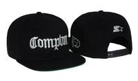 Black SSUR BBoy Street Fashion Men's Women's Snapbacks Embroidery Letter compton baseball Caps for hip hop hats