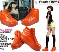 HEAVY-BOTTOMED PLATFORM SHOES HIGH-TOP SHOES