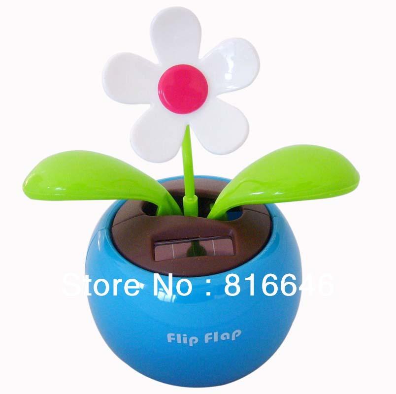 Free Shipping Green Solar Dancing Flower(China (Mainland))