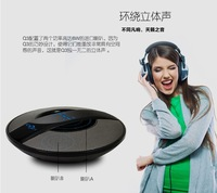 Multimedia Portable Wireless Bluetooth Speaker For Laptop Mobile phone PC UFO stlye big horn with BASS Free Shipping