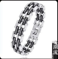 Free shipping! Men's 316L Stainless steel Bracelets wholesale,  personalized link chain bracelet , bangle jewelry wholesale