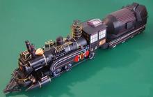 Film back to the future barlett dr paper model train(China (Mainland))