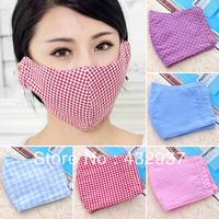 Dot plaid winter thickening cotton thermal 100% three-dimensional masks general masks g091