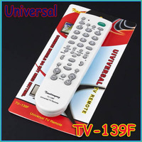 2pcs/lot Super Version White Universal Television/ TV Remote Control TV-139F