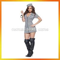 2013 Fancy Prisoner dress Halloween Sexy Csotume for women AHWC-0994
