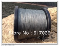 Free shipping 100% pe  braided fishing line gray 1500yards   8LB 10LB15LB20LB30LB40LB50LB65LB80LB100LB