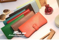 2013 New Style PU Leather Wallet Zipper & Hap PU Purse 3 Colors 12.1*9.8cm Fashion Lady's Mini Bags Multifunction Money clip
