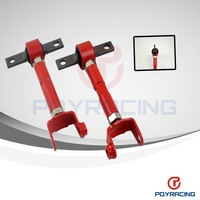 For HONDA CIVIC SI EP3 ACURA RSX RED REAR CAMBER KIT