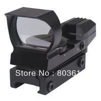 4 Reticle Electro Red/Green Dot Sight Tactical Reflex Sight Rifle Scope with Mount for airsoft Gun
