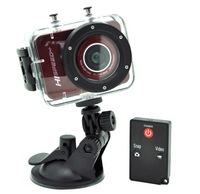 Free Shipping 5.0 Mega 1920*1080 1080P Full HD Sport Helmet Camera with Remote