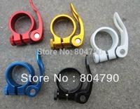 *Sale* Aluminum Alloy 34.9MM Road Bike MTB Quick Release Seatpost Seat Post Clamp new 1pcs/lot
