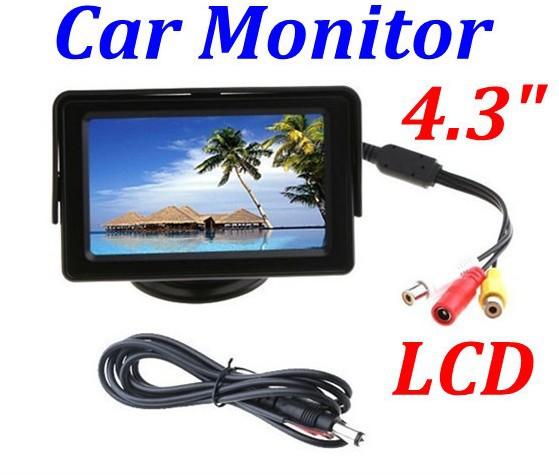 Автомобильный монитор 4.3 LCD blacklight DVD