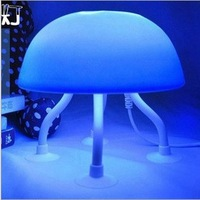 Deep Sea Jellyfish nightlights USB power,can squeeze Nightlight LED light DIY fun lamp bed-lighting small gift Free Shipping